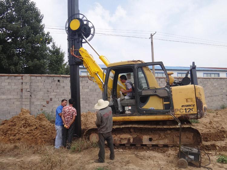 履带挖掘机改装旋挖钻机